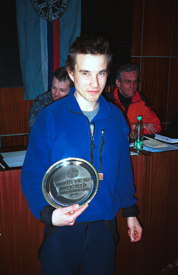 Horolezec roka 2002 Dodo Kopold