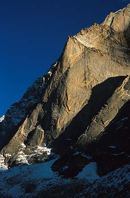 Castle Peak, Miyar Valley, Himaláje.