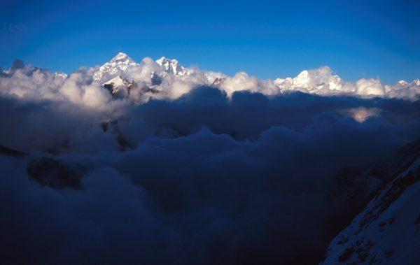 Everest, Lhoce a Makalu.